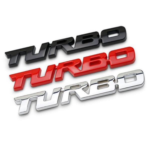 turbo, Emblem, Car Sticker, Cars