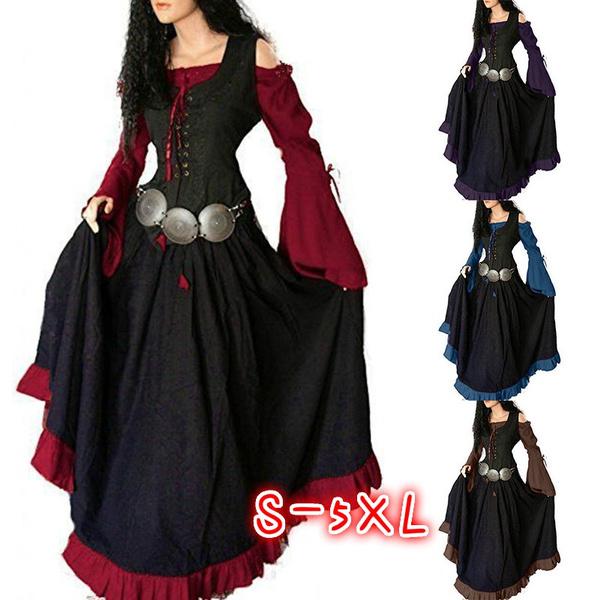Goth, Plus Size, Lace, long dress