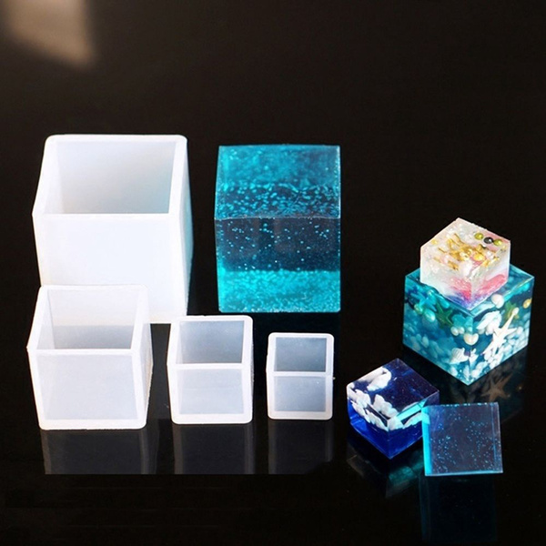 cube, casting, Jewelry, siliconemould