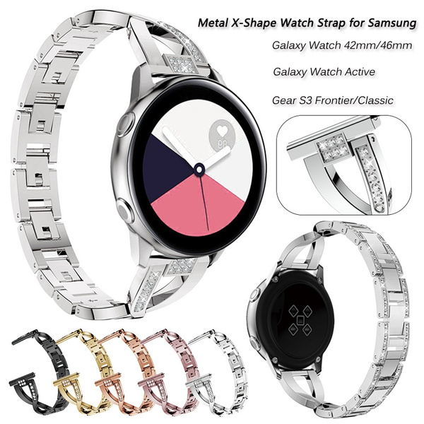 galaxywatch46mmmetalstrap, DIAMOND, womenwatchband, Jewelry