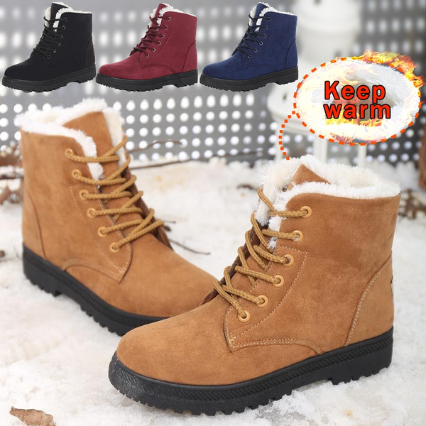 Snow Boots Winter Warm Cotton Boots