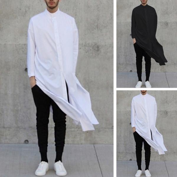 splithem, cardigan, islamic, Clothing