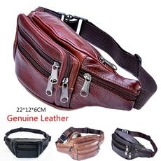 Fashion, leatherchestbag, Men, purses