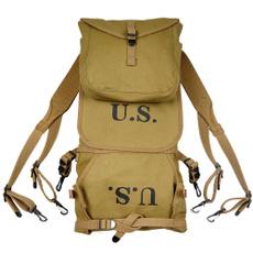 army bags, khaki, camping, Army