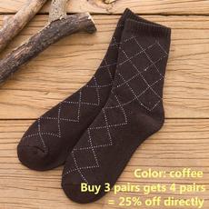 warmterrysock, Cotton Socks, Cotton, Winter