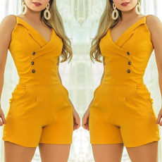 summerwear, Women Rompers, Fashion, ruffled