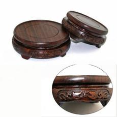 woodpedestal, roundbase, Wooden, carvingbase