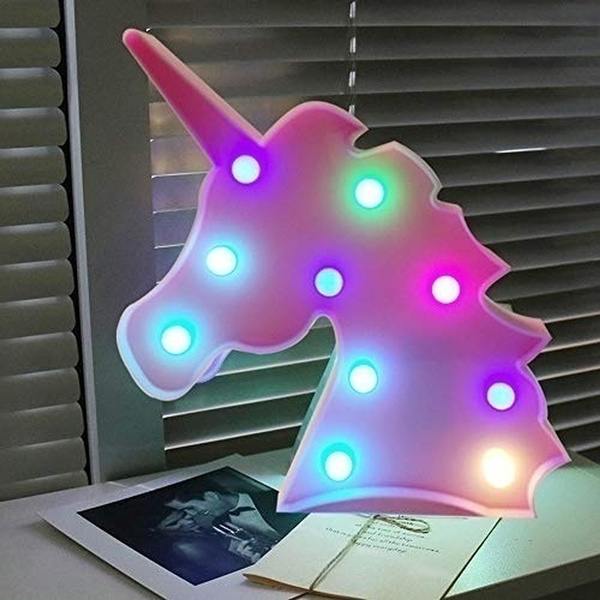 party, Night Light, Home Decor, Gifts