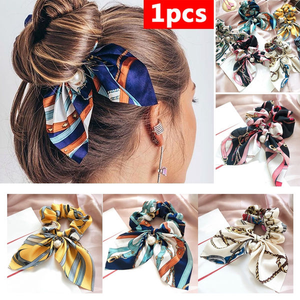 hairdecoration, hair, stripedheadband, pearlbowknot