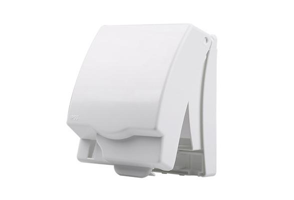 Wall Cover Bathroom Waterproof Boxes Light Panel Socket Doorbell Flip Cap