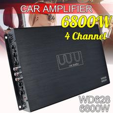 stereospeaker, 4channelsystem, Bass, amplifieramp