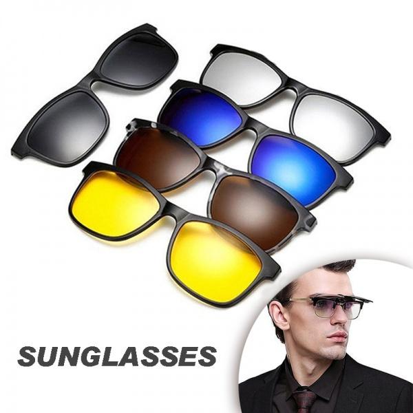 eyewearaccessorie, menspolarizedsunglasseshighquality, Fashion Sunglasses, cliponpolarizedsunglasse
