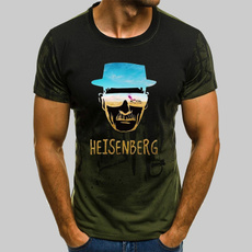 heisenberg, Mens T Shirt, Fashion, Graphic T-Shirt