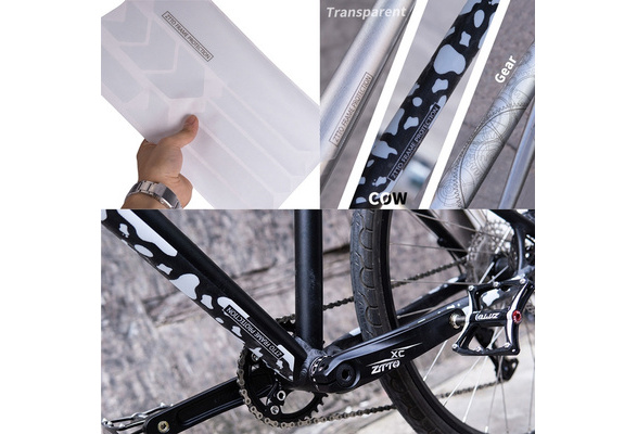 ZTTO MTB Bicycle Frame Protection Stickers 3D Scratch Resistant Best