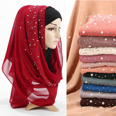 muslim hijab, Scarves, Head Bands, Jewelry
