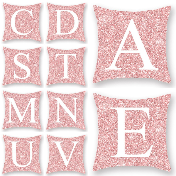 sofacushiondecor, rosegoldpillowcase, Pillowcases, decoration