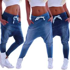 harem, elastic waist, Yoga, Waist