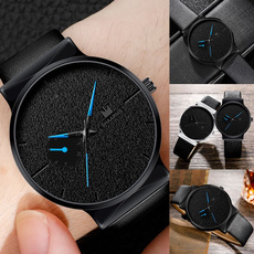 watchformen, quartz, business watch, leather strap