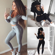 Two-Piece Suits, Yoga, Women Fashion, pants