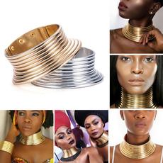 Fashion, Jewelry, gold, adjustablechoker