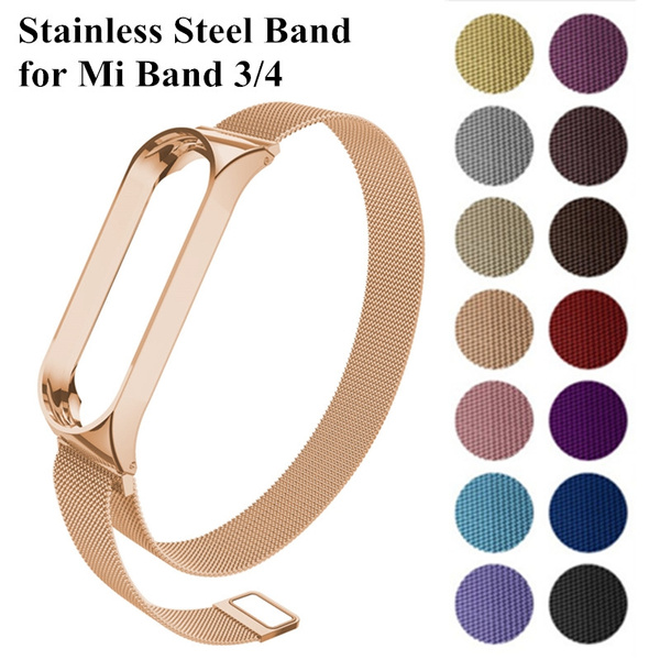 Steel, mi3band, Wristbands, Stainless Steel