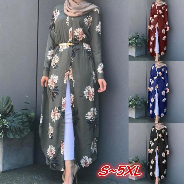 dubai, Plus Size, splitdre, long dress