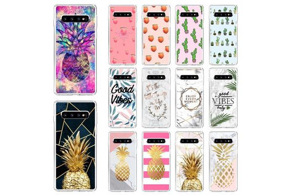Coques en silicone mignon pour Samsung Galaxy A50 A60 A70 A40 A30 A20 A10 M40 M30 M20 M10 Cartoon Fundas de protection TPU pour Samsung Galaxy S10 S10 ...