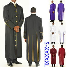 Stand Collar, men coat, clergyrobe, clergyman