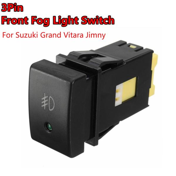 foglamp, suzukigrandvitara, lights, button