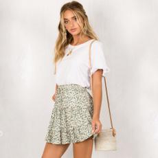 women dress, summer skirt, hotstyle, ruffled