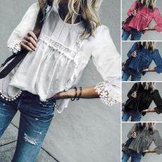 blouse, shirtsforwomen, Tassels, Plus Size