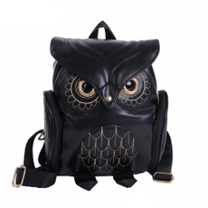 Owl, Escuela, Moda, school bags for teenagers