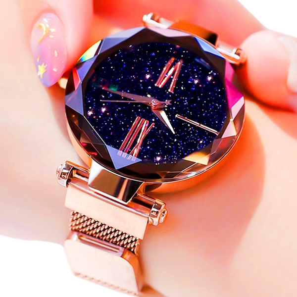 starrysky, rosegoldwatch, gold, womanwatch
