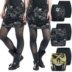 black skirt, Fashion Skirts, punkstyledre, Fashion