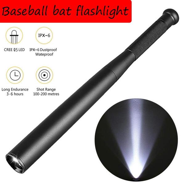 Emergency Self Lamp Baseball Bat LED Taschenlampe Super Bright Baton Torch Licht