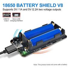 batteryshield, arduino, Battery, shieldmodule