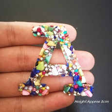 alphabetpatch, Fashion, Colorful, patchesforclothe