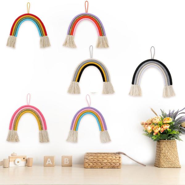 rainbow, hangingornament, bedhangingtoy, wallornament