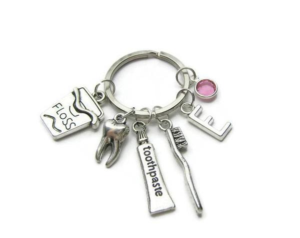 keychainfordentist, toothpastekeychain, Key Chain, Jewelry