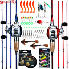 Fiber, Bass, fishingrod, baitcasting