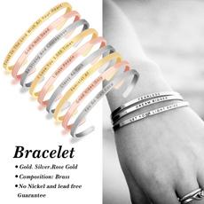 silvercuffbracelet, Cuff, Jewelry, rosegoldbangle