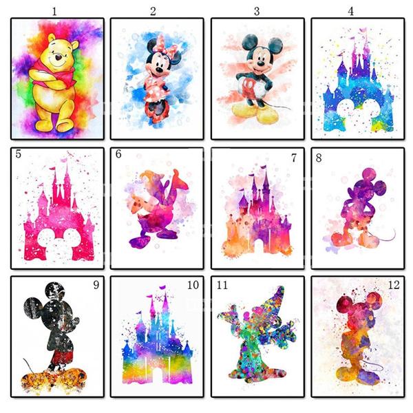 Mickey, decoration, DIAMOND, Home Decor