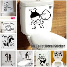Decor, Bathroom Accessories, bathroomsticker, Home Decor