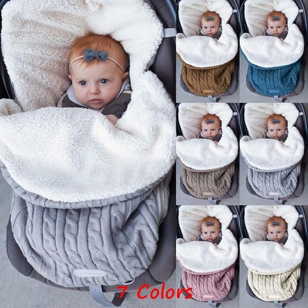 babysleepingbag, knittedsleepbag, Blanket, newbornbabyblanket