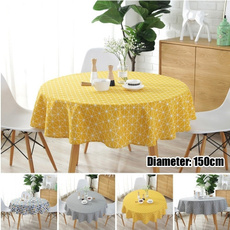 Triangles, Picnic, Restaurant, roundtablecloth