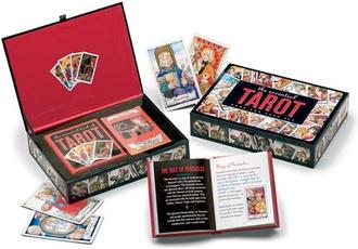 card game, divinationcard, tarot, Book