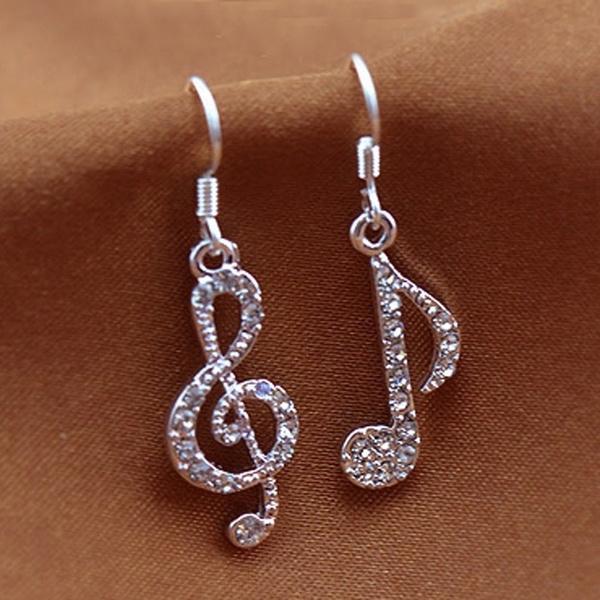 Women's Fashion, Dangle Earring, Jewelry, Crystal