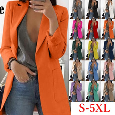 jacketforwomen, Plus Size, Blazer, Sleeve