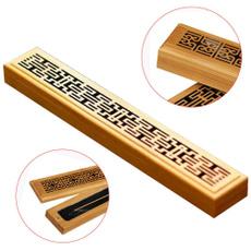 Box, stickholder, woodenincensestickholder, Wooden