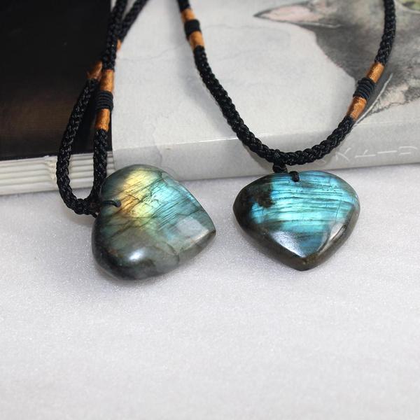moonstonependant, energystone, Heart Shape, Jewelry